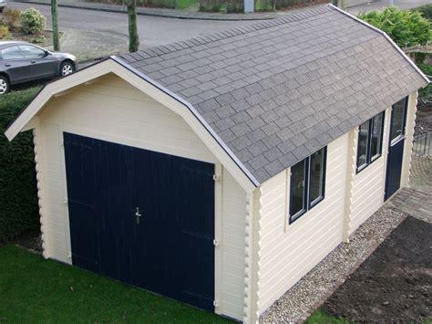 Carters Garage by Mrs S Workshop Keops Interlock Log Cabins
