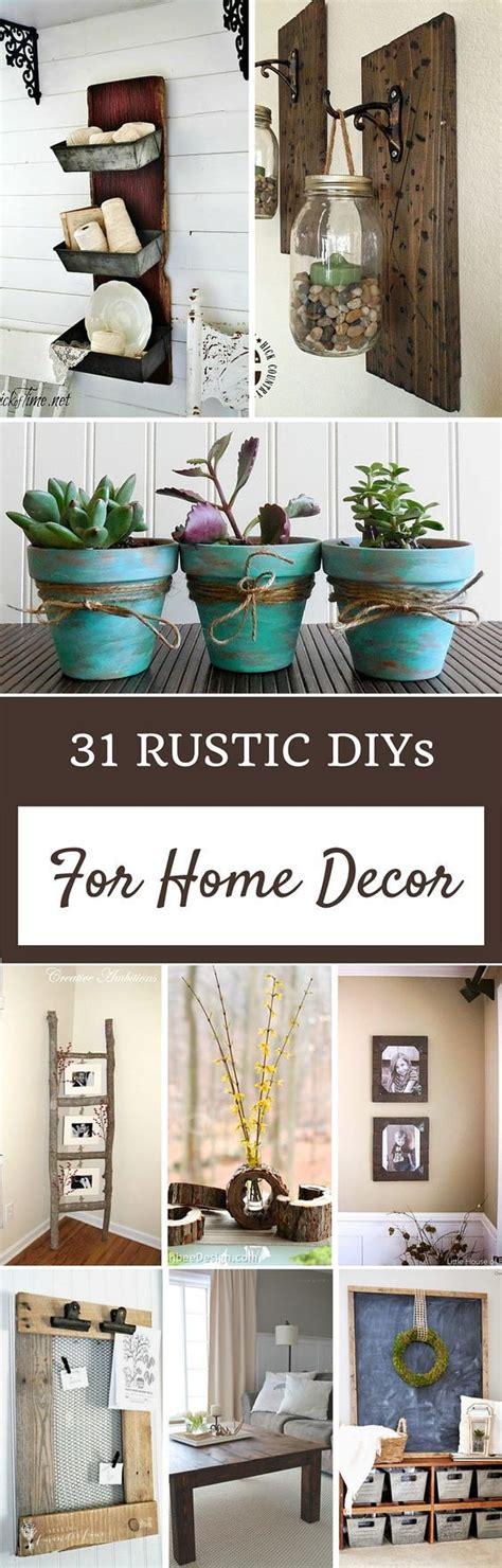home decor more 31 rustic diys for home decor more photos to replace