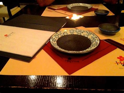 hanami pavia tavola imbandita per due persone foto di hanami pavia