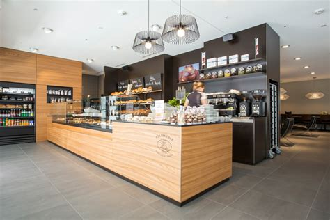 interior design for a bakery cafe nussbaumer bakery caf 233 by barmade interior design zug