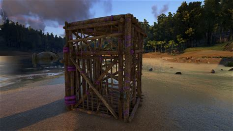 Wooden Cage   Official ARK: Survival Evolved Wiki