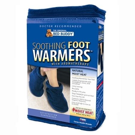 foot warmers for bed bed buddy aromatherapy foot warmers moist heat footies
