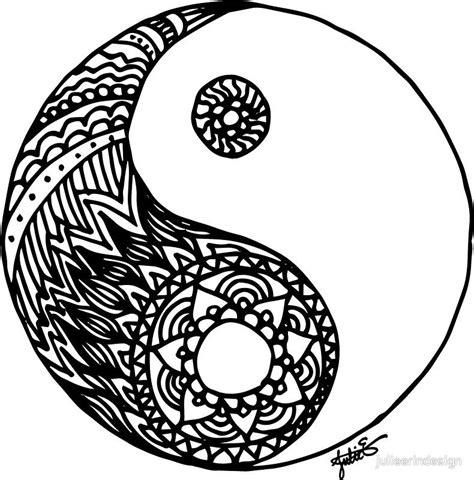 yin yang mandala coloring pages yin yang mandala coloring pages part 5 free resource