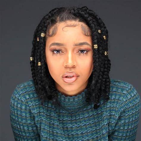 nice hairstyles using braids nice 25 timeless short box braids ideas protecting your