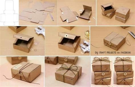 How To Make A Small Gift Box Out Of Paper - the world s catalog of ideas