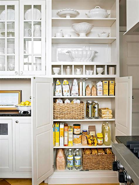 White Pantry Cabinets For Kitchen 20 Variants Of White Kitchen Pantry Cabinets Interior
