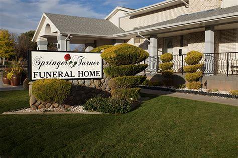 springer turner funeral home richfield salina utah