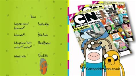 design network magazine cartoon network uk hd cartoon network magazine ecp youtube