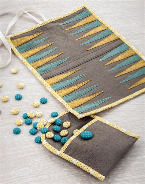 Backgammon Handmade - patchwork for pop father s day gift ideas stitch