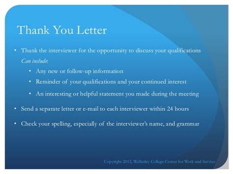 cover letter thank you paragraph