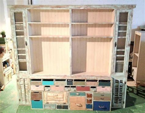 alacena de materiales de derribo a display cabinet made