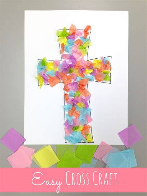 cross craft for cross crafts celebrating the reason for easter happy