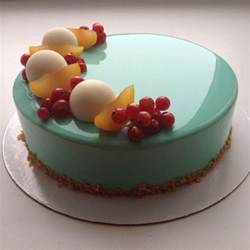 kuchen mit glasur ultra shiny glaze make reflective cakes lost in