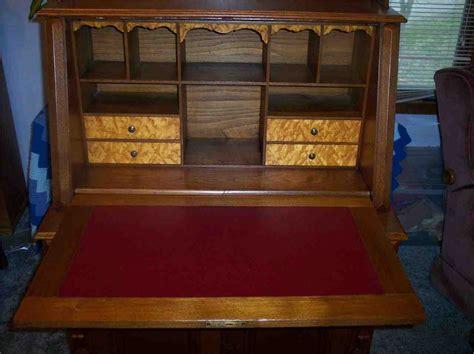 antique drop front secretary desk home furniture design