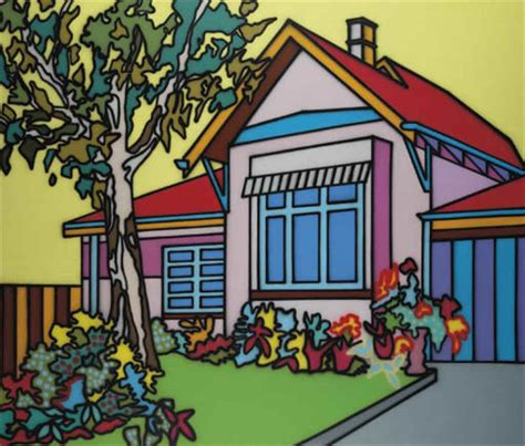artist house howard arkley 1951 1999 pink house christie s