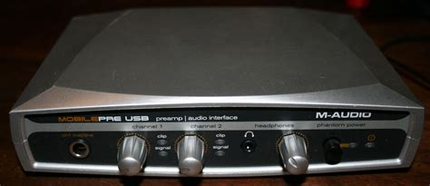 Usb Audio Mobil m audio mobilepre usb mobile pre and audio interface driver