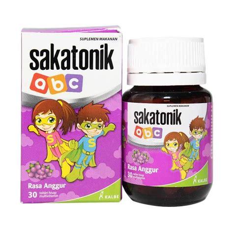 Vitamin Anak Sakatonik Abc jual sakatonik abc anggur suplemen kesehatan 30 tablet