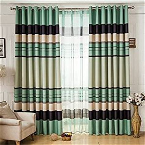 102 inch curtains com ffmode stripes blackout drapes curtains