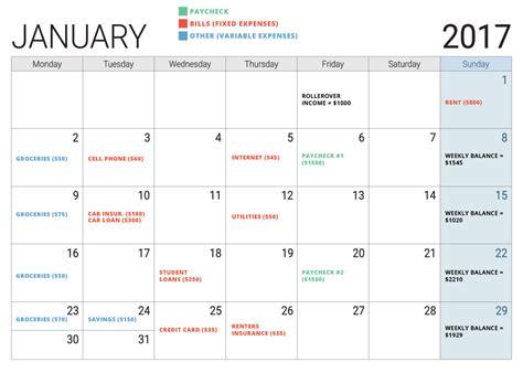 Budget Calendar Pdf Doc 580600 Sle Budget Calendar Sle Budget