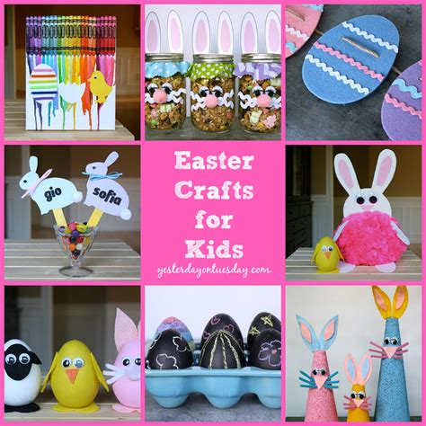 easter ideas for kids easter crafts archives yesterday on tuesday