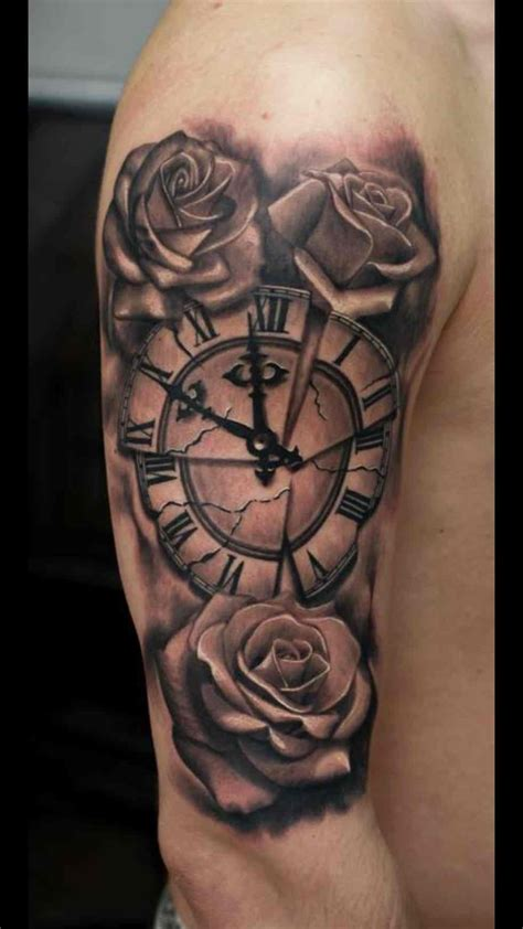 time clock tattoo tattoo collections