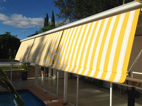 Outdoor Awning Blind by A Convertible Awning Outdoor Blind