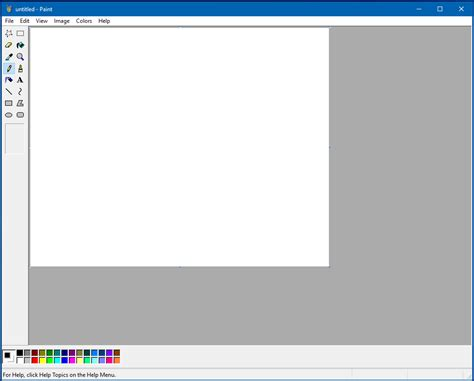 classic paint running classic ms paint on windows 7 10 the doctor s blog