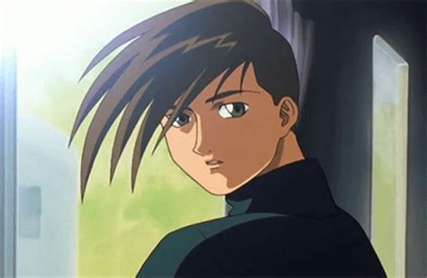 Anime 90s Gif by Gundam Wing Laughing Gif Find On Giphy