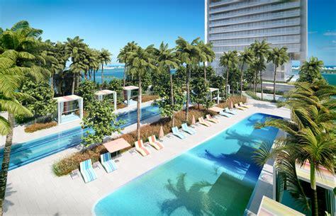 Kids Desk Area Waterfront Miami Luxury Condos Missoni Baia Amenities