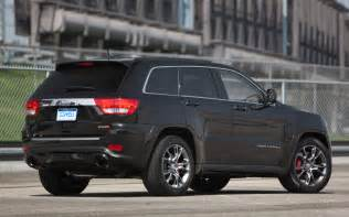 2012 jeep srt8 rear three quarters view photo 5