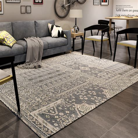 Bedroom Area Rug | 160x230cm nordic classic carpets for living room home