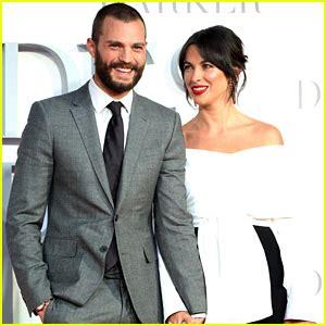 jamie dornan & wife amelia warner look so in love at
