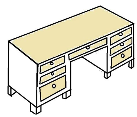 bureau de dessin file pedestal desk sketch 2 jpg wikimedia commons