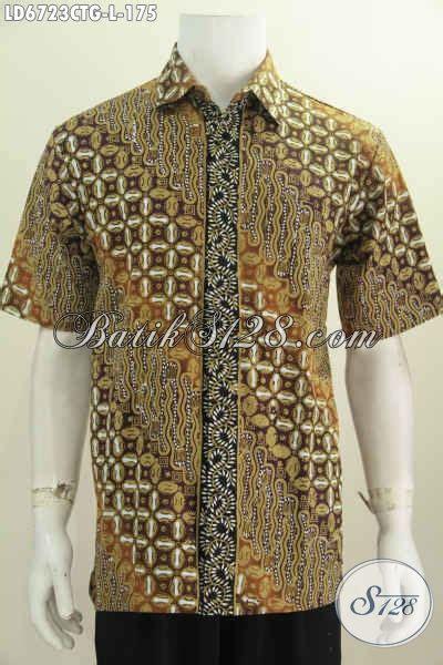 desain baju batik online agen baju batik online sedia hem lengan pendek desain