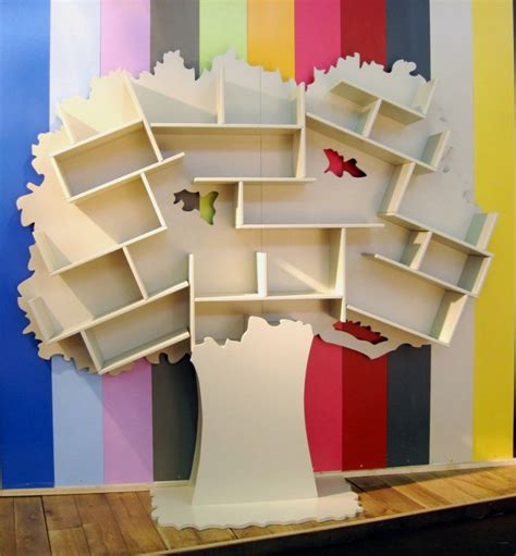 bookcase for children s room fun kids bookcase in tree shape bibliotheques arbres