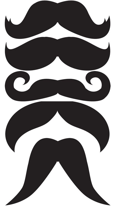 printable photo booth props mustache photo booth mustache printables clipart best