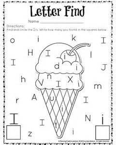 kindergarten worksheet letters letters missing free