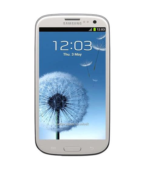 Samsung S3 White Samsung Galaxy S3 I9300 Marble 16gb White Price In India