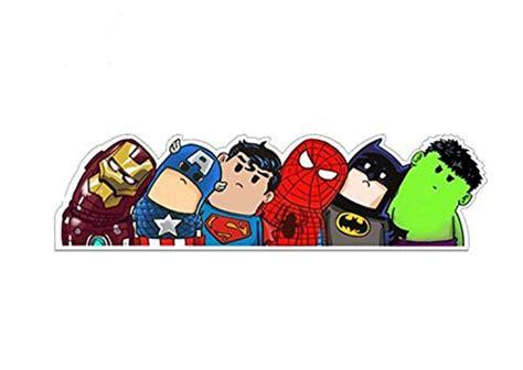 Auto Aufkleber Hulk by Superheld Auto Aufkleber Ironman Captain America Superman