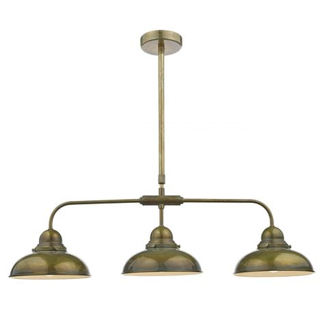 Bar Pendant Lights Retro Style Weathered Bronze Bar Pendant With 3 Lights Insulated