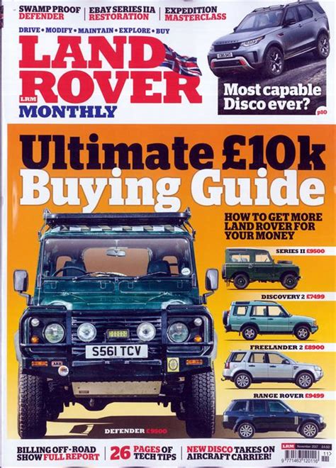 land rover magazines uk land rover monthly magazine subscription buy at