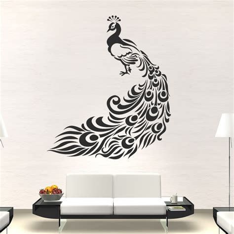 painting on wall wall art 5 peacock wall art
