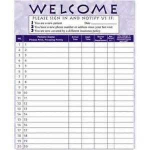 dr office sign in sheet template arts press 174 privacy sign in sheet purple quill