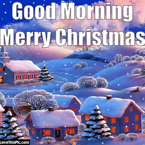 good morning merry christmas image quote  snow pictures   images  facebook