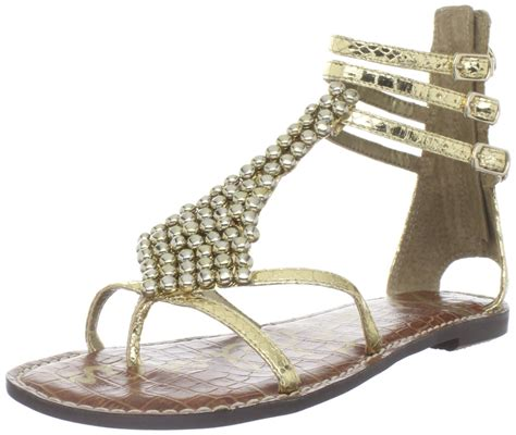 sam edelman gold sandals sam edelman sam edelman womens sandal in gold