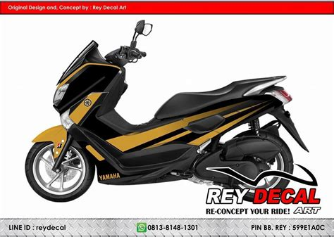 Sicker Decal Nmax sticker creator reydecal honda suzuki yamaha kawasaki etc