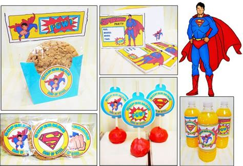 printable superman party decorations 7 best images of superman party printables superman logo