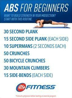 beginner ab workout i really need to work on my midsection and this routine is yet will