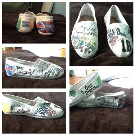 diy one direction shoes 144 best merch images on my silhouettes