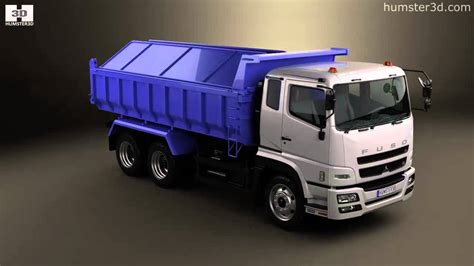 Topi Trucker 10 2 Reove Store mitsubishi fuso great dump truck 3 axle 2007 by 3d model store humster3d